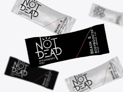 Logo & Packaging Design for Not Dead