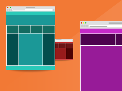 Responsive Wireframe Project