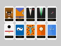 Gamification Postage Stamps