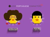 Lego Portuguese Characters 2-6