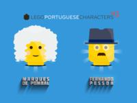 Lego Portuguese Characters 3-6