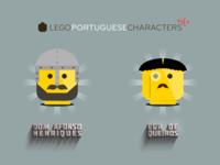 Lego Portuguese Characters 4-6