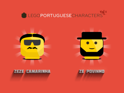 Lego Portuguese Characters 5-6