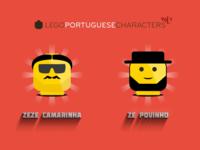 Lego Portuguese Characters 5-6