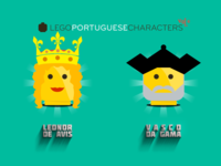Lego Portuguese Characters 6-6