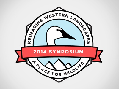 Reimagine Symposium Seal badge logo seal environmental gotham swan montana