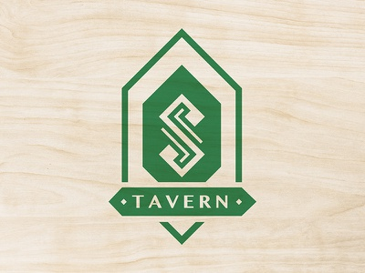 Shawhan's Tavern Logo 2 typography irish logo branding celtic blackletter