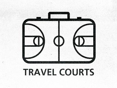 Travel Courts Logo logo sportcourt court travel travel courts