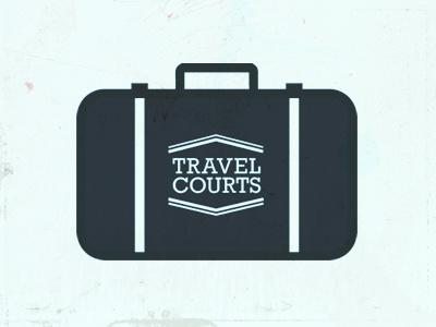 Travel Courts Logo 2 logo suitcase travel courts