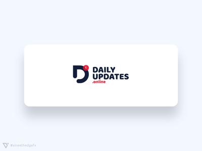 Daily Updates Logo Design
