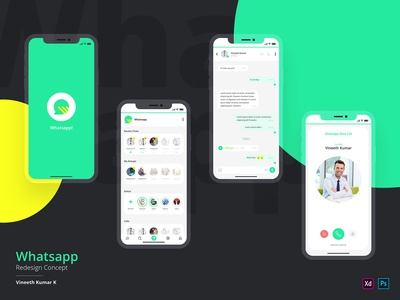 Whatsapp Redesign Challenge