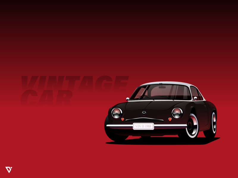 Final Car 01 vector illustration adobeillustrator