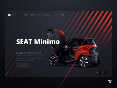 SEAT Minimo Lander Page Template