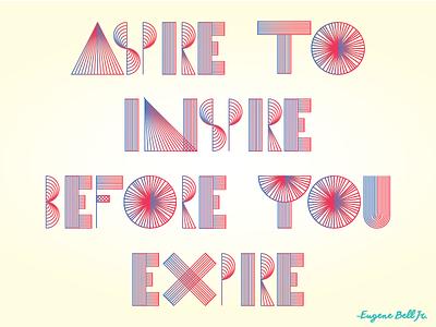 Inspirational Poster Design typography hand-lettering illustration office motivate motivational inspirational design poster