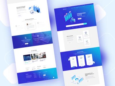 Hostcox - Hosting Template Design