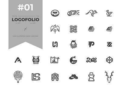 Vol. #01 Logofolio (Logogram) logogram logodesign lineart monogram symbol mark branding vector illustration icon logo flat design