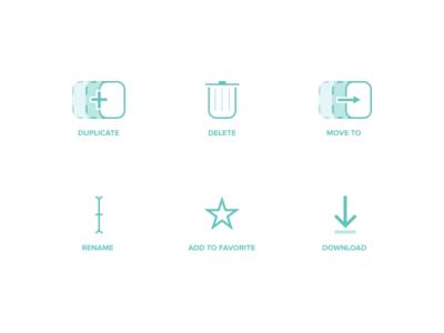 Cumulus icon set download favorite rename move to delete duplicate free set icon