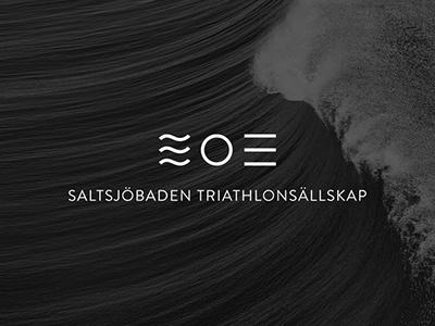 Logo for Saltsjöbaden Triathlonsällskap logo branding