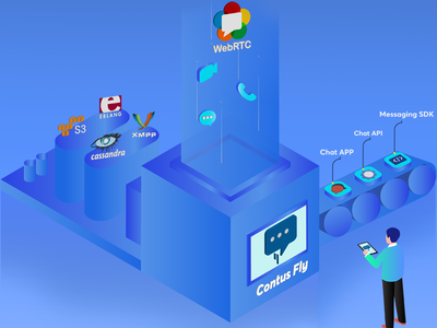 Contus Fly-WebRTC Video & Voice Chat App Featuring Image