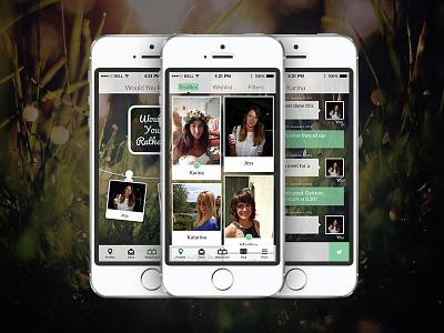 Dattch App Spring dattch community blog green women ios app