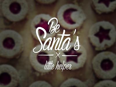 Santa christmas merry cookies santa joy