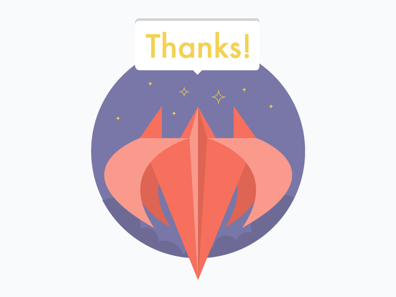 Thanks flower lily red fun illustration