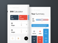 BMI Calculator Concept