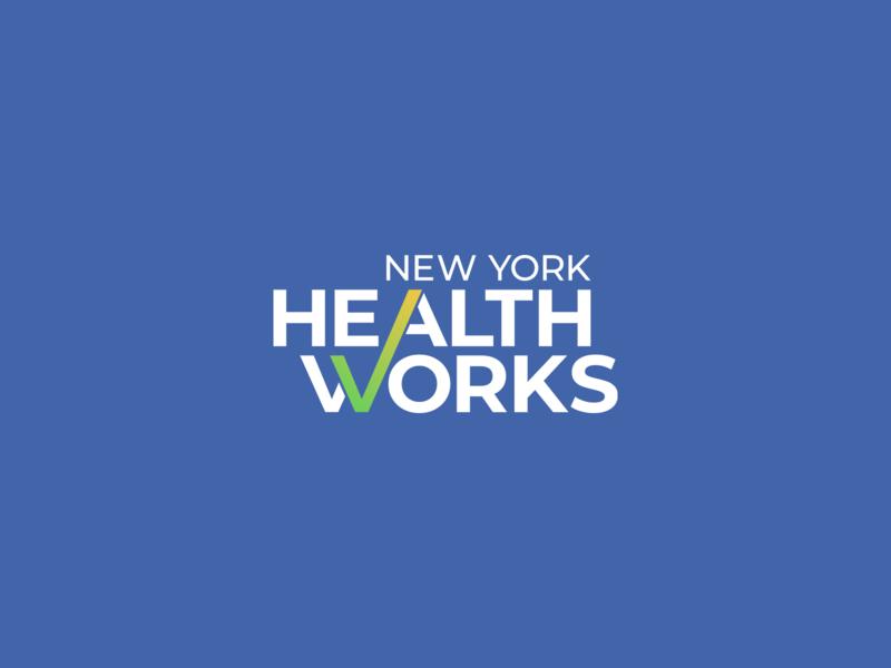 NYWH rebrand logotype ny logotype checkmark logo