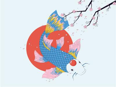 Koi fish 🌊