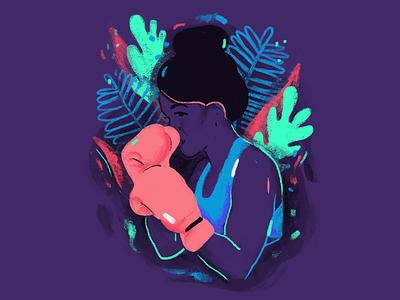 Girl power 💪 graphic design feminist feminism illustration illustree