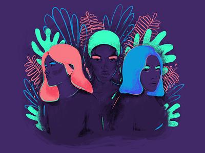 Girl power 💪 woman women girl girls graphic design feminist feminism illustration illustree