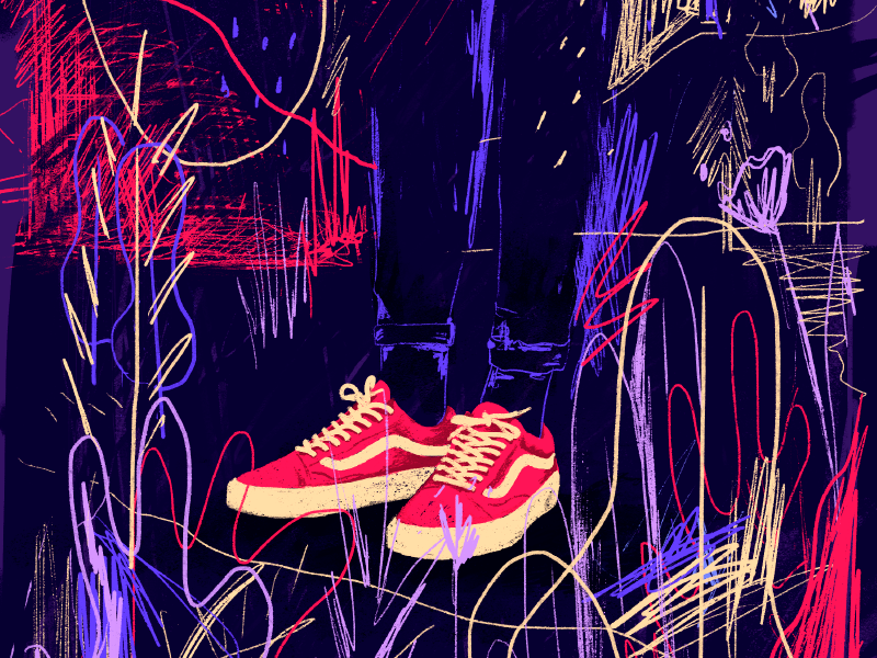 Sneakers ✌️ legs graphicdesign illustration sneakers