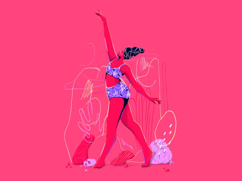 New character 💃 illustree girl graphics illustration characters