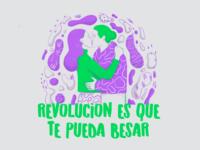 Revolución es que te pueda besar