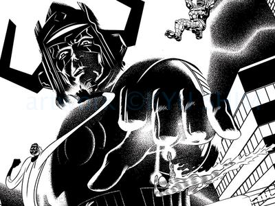 The Fantastic Four vs. Galactus