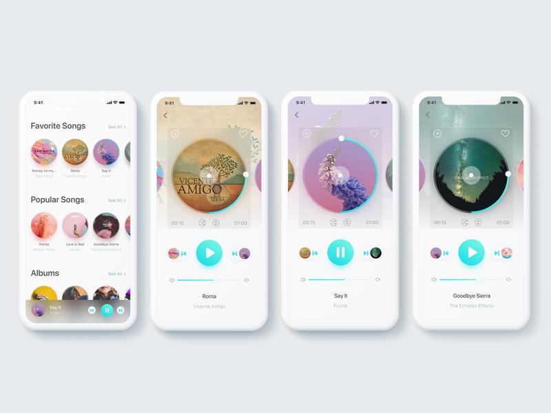 Music player application song musicplayer ios app music application music music art music artwork music album music app 009 appscreen apps design apps app design ios iphonex ui uidesign dailyui