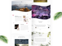 Home page design for Stroke of Insight Massage