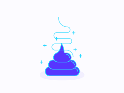 💩 design minimal vector art vector illustration poop