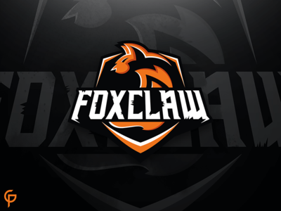 Foclaw - Fox Mascot Logo logotype identity branding fox illustration gaming esport sports logo mascot