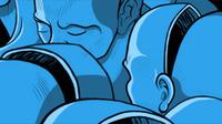 Empty Heads Illustration
