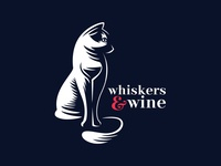 Wine and Cat