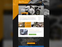 Simple website for car showroom & car repair company