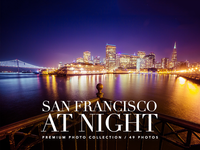 San Francisco At Night PREMIUM Photo Collection