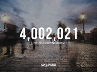 4M+ Photo Downloads!