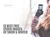 12 BEST FREE Stock Images of Snow & Winter