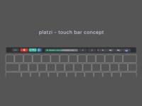Platzi Touch Bar Concept
