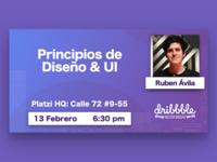 Dribbble Bogotá Sesión 4: Principios de Diseño & UI