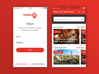 Insiders4U (Travel mobile app)