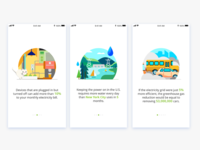 Onboarding Design for ThinkEco app