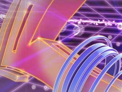 cyber-graffiti style frames 80s arcade graffiti motion graphics graphic design neon retro